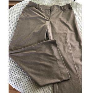 Ann Taylor Brown Dress Pants Size 16